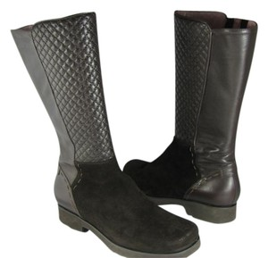 Taryn Rose dark brown Boots
