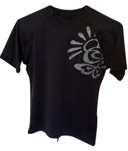 Rip Curl Rip Curl black short sleeve swimwear shirt
