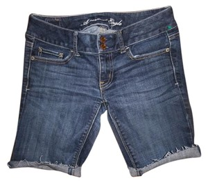 American Eagle Outfitters Stretch Shorts Blue