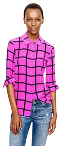 J.Crew Button Down Shirt Magenta