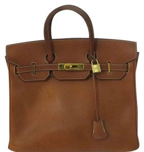 Hermès Satchel in Brown Birkin
