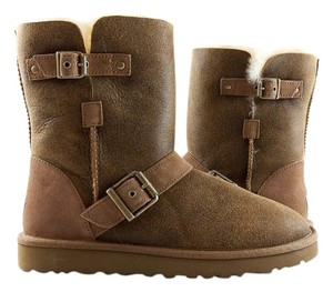 UGG Australia Ugg Dylyn Shearling Brown Boots