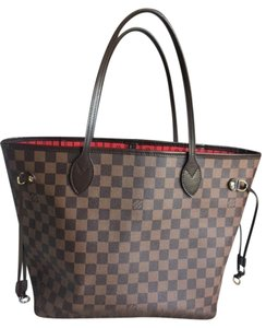 Louis Vuitton Tote in 2013 Damier Ebene Neverfull MM