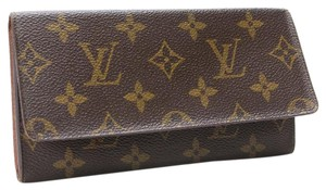 Louis Vuitton Louis Vuitton Porte Valeurs Cartes Monogram Long Bifold Clutch Wallet