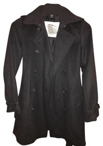 Burberry London Trench Wool Trench Coat