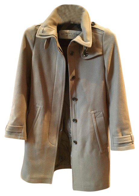 Item - Tan Rushworth Belted Wool Blend Coat Size 6 (S)