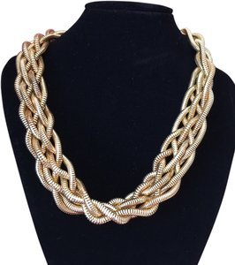 Nine West Nine West Gold Twist Fashion Necklace