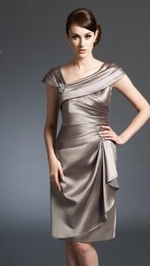 Jasmine Bridal Taupe M150019 Dress