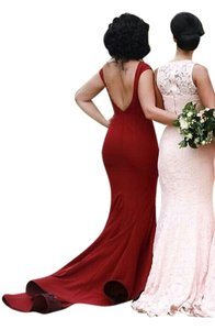 Jadore Evenings Fitted Low Back Mermaid Off The Horsehair Dress