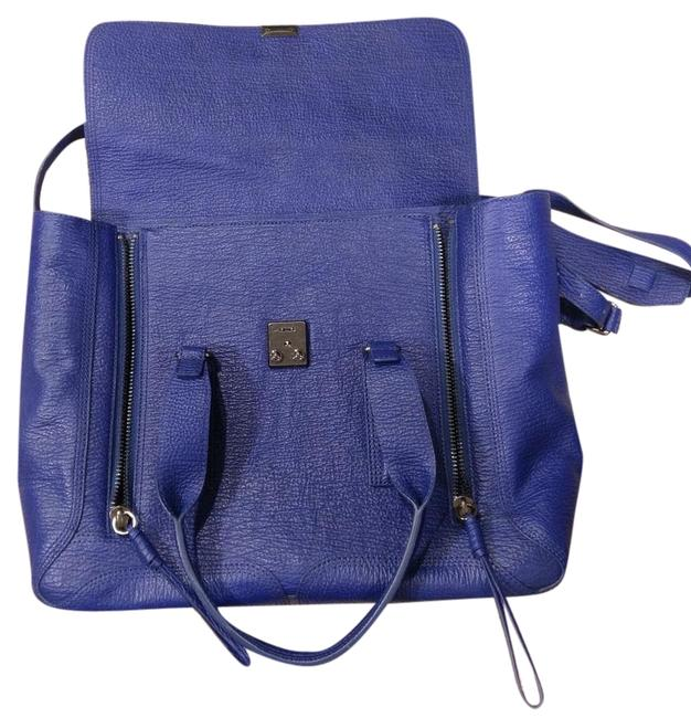 Item - Large Pashli Cobalt Leather Shoulder Bag