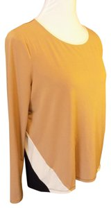 Adrienne Vittadini Pullover Stretchy Bold Tunic
