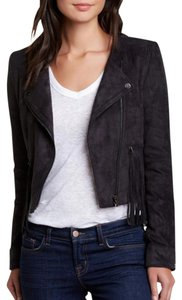 FATE Suede Fringed Motorcycle Jacket