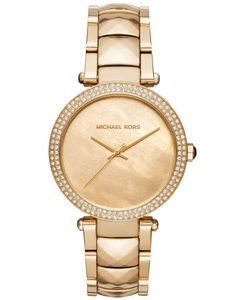 Michael Kors Michael Kors Women's Parker Gold-tone Stainless Steel Watch Mk6425