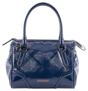 Burberry Bowling Patent Tote