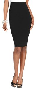 Vince Camuto Pencil Bodycon Knit Skirt Black