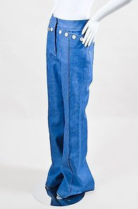 Derek Lam Bright Blue Denim Flare Leg Jeans