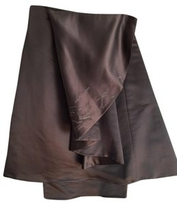 dosa Silk Skirt Gray