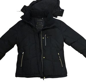 Calvin Klein Gold Zippered Puffy Coat