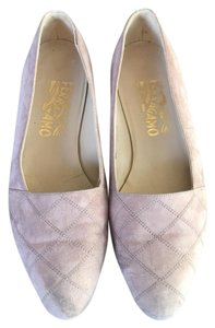 Salvatore Ferragamo Grey Flats