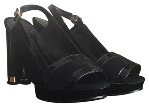 Tory Burch Black Platforms