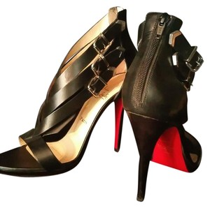 Christian Louboutin Limited Edition Christian Louboutin. Stappy Open Toe Black Sandals
