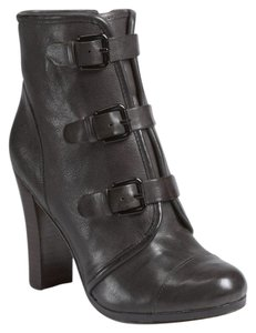 Plenty by Tracy Reese Leather Gray Boots