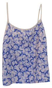 J.McLaughlin Top Beige, Blue, White