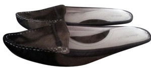 Eddie Bauer Pony Fur Slip-on Brown Mules