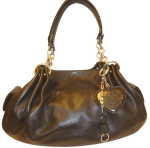 Juicy Couture Refurbished Leather Lined. Hobo Bag