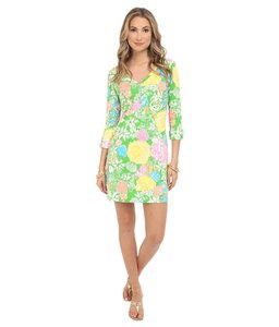 Lilly Pulitzer short dress Multi Hibiscus Stroll on Tradesy