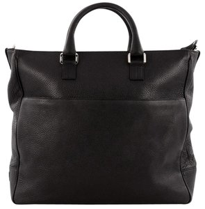 Tiffany & Co. Leather Tote in Black