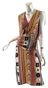 Etro short dress Multi Color Print on Tradesy