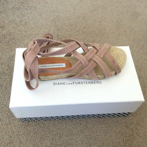 Diane von Furstenberg Powder Sandals