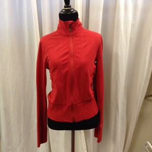 Lululemon Lululemon Red Luon Athletic Jacket Sz 6