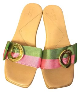 Kate Spade Pink/green Sandals