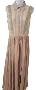 Taupe Maxi Dress by Other