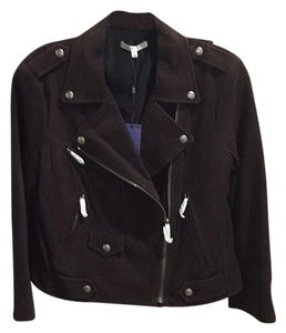 Rebecca Minkoff Chocolate Goatskin Leather Jacket