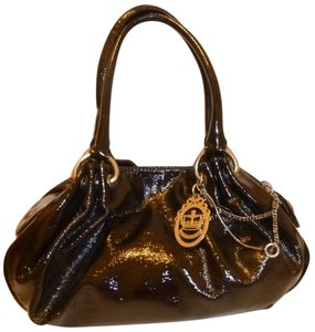 Juicy Couture Refurbished Patent Leather Hobo Bag