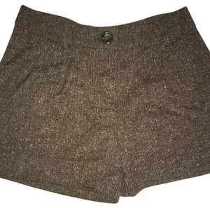 Silence + Noise Dress Shorts Brown