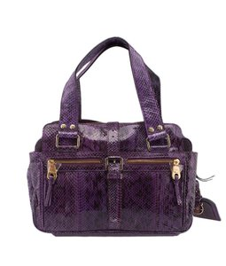 Mulberry Mabel Satchel in Purple