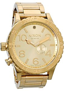 Nixon Nixon 51-30 Tide Watch - All Gold