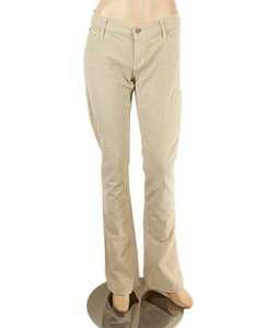Mother Runaway Cream Cotton Pants