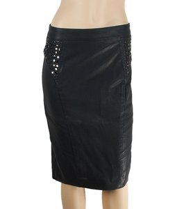 Rachel Roy 100% Cotton Skirt Black