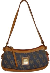 Dooney & Bourke Denim Monogram Shoulder Bag