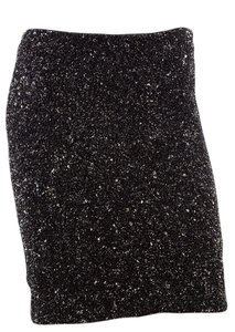 AllSaints All Saints Sequin Mini Skirt Grey