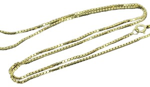 Other 14K Yellow Gold ~0.96mm 18 Inches Box Chain