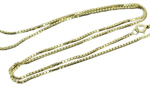 Other 14K Yellow Gold ~0.90mm 24 Inches Box Chain