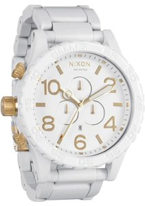 Nixon Nixon 51-30 Chrono All White/Gold