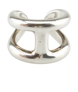 Hermès Hermes, Osmose, Sterling, Silver, Ring, Size, 6, 73187