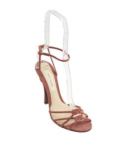 Marc Jacobs Suede Pink Sandals